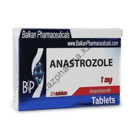 Анастрозол Balkan Anastrozole 20 таблеток (1таб 1мг)