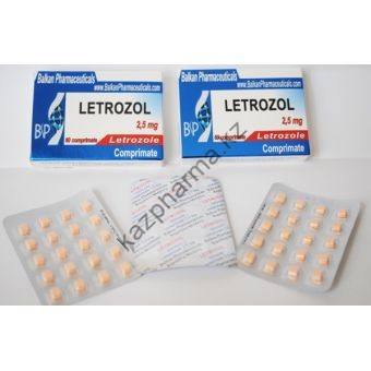 Летрозол Balkan Pharmaceuticals 20 таблеток (1таб 2.5 мг) - Ереван