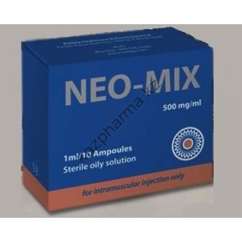 Нео-микс (oil) RADJAY 10 ампул по 1мл (1амп 500 мг) - Ереван