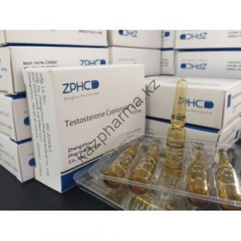 Тестостерон ципионат ZPHC (Testosterone Cypionate) 10 ампул по 1мл (1амп 250 мг) - Ереван